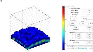 Desktop – realtime fluid simulation – Science and Industry