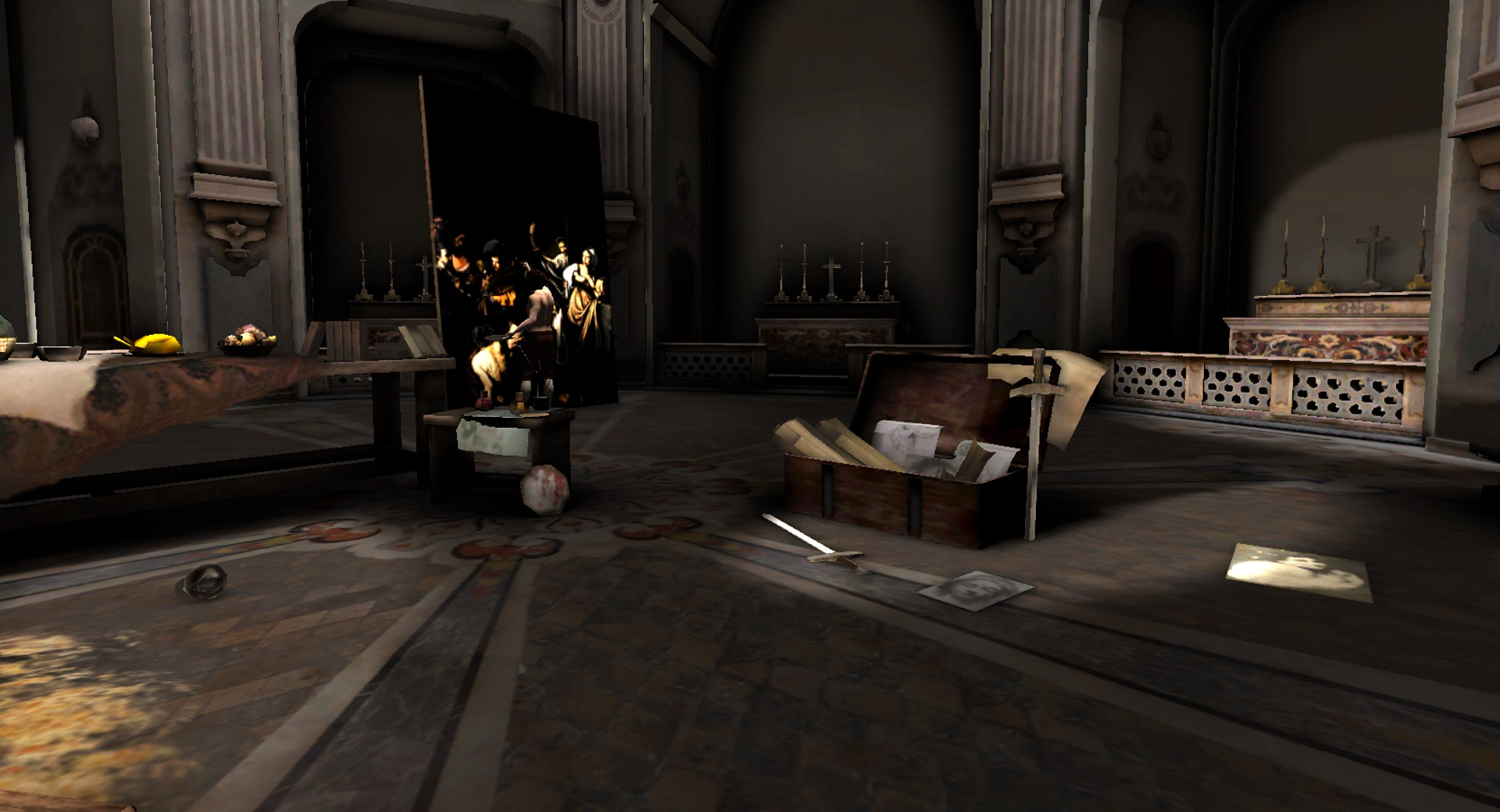 Virtual Reality (GearVR) - Caravaggio painting - ART AND CULTURAL HERITAGE