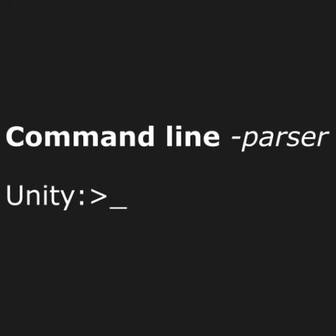 command line parser