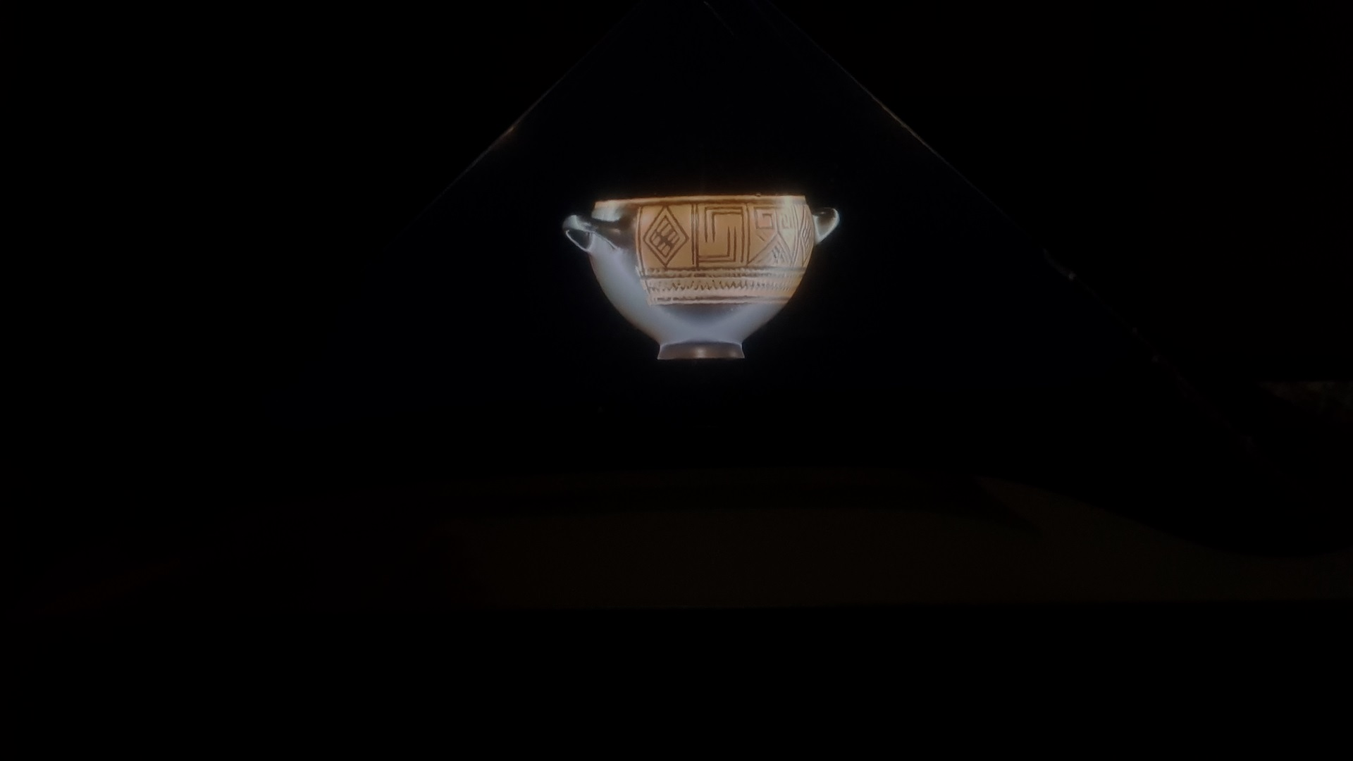 Hologram - Nestor cup with animation