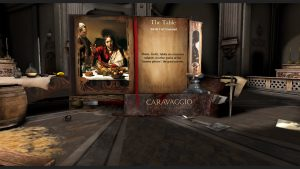 Gear VR - Caravaggio Experience game