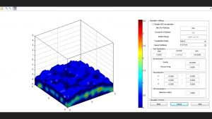 Desktop - realtime fluid simulation based on physics parameters
